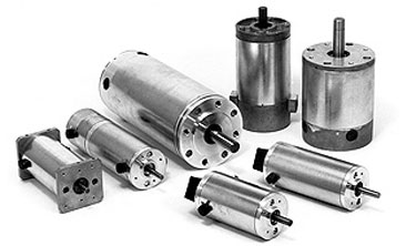 Image of an DC brushed motor