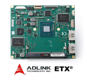 ADLINK Announces New ETX Computer-on-Module as Drop-in Replacement for Existing ETX Systems