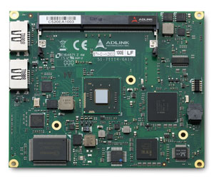 ADLINK Technology Announces Latest ETX® Module with Dual-core 32nm Process Intel® Atom™ Processor and NM10 Express Chipset