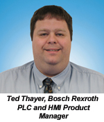 Ted Thayer, PLC and HMI Product Manager