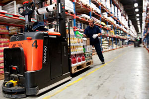 Largest U.S.-Based Third Party Logistics Supplier, GENCO ATC, to Install Kollmorgen Pick-n-Go® Outfitted Forklifts