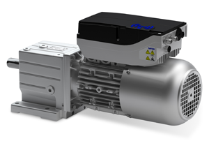 Smart Motor from Lenze is fully programmable from a smart phone