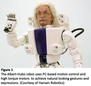 Servo Motors Give Robots Human Face