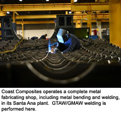 Coast Composites Achieves Higher Accuracies on Invar Tooling for Aerospace Structures