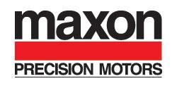 maxon precision motors, inc. Logo