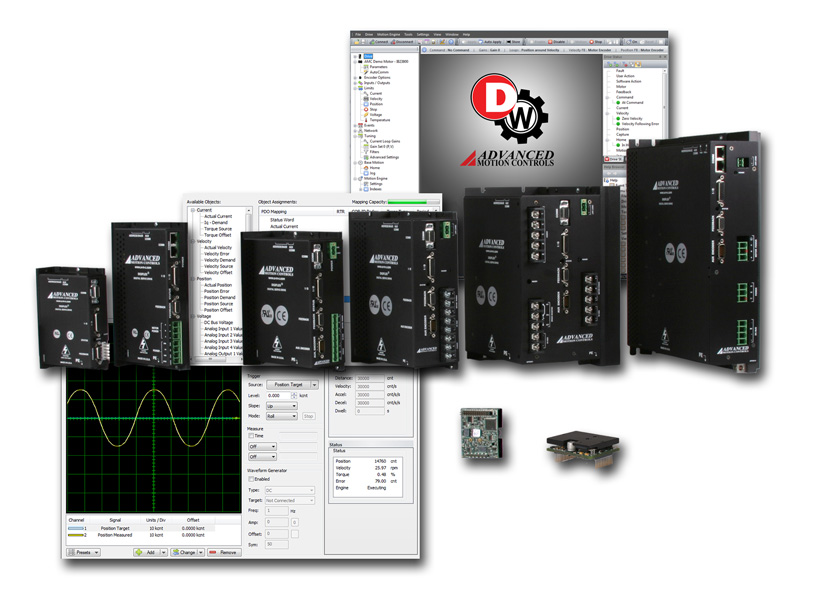 DriveWare® 7.1 software for DigiFlex® Performance™ Servo Drives