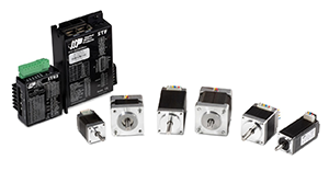 Compact step motors in NEMA sizes 8, 11 and 14