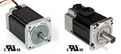 Applied Motion Products introduces a range of UL-Listed and CSA- Certified stepper motors and servo motors.