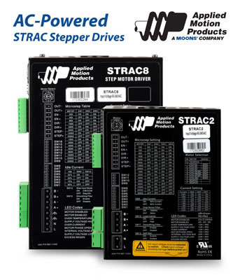 NEW STR Stepper Drives by Applied Motion Products