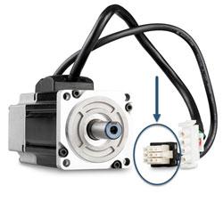 9 Pin Feedback Connectors For J Series Servo