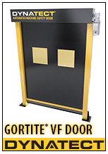 Gortite VF (Vertical Fabric) Automated Machine Safety Door