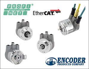 EPC's Models A58HE and A58SE Now Offer PROFINET I-O (CC-C) Communication Protocol