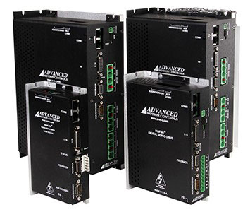 AMC Feature a Complete Family of POWERLINK Servo Amplifiers to 27.4kW Output