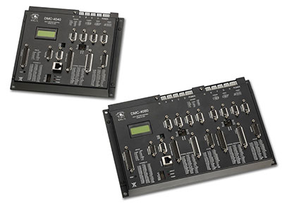 Galil's DMC-4000 Series of Ethernet/RS232 Multi-Axis Motion Controllers