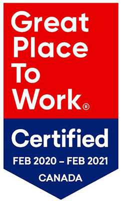 Great Place to Work Certified - Electromate 2020