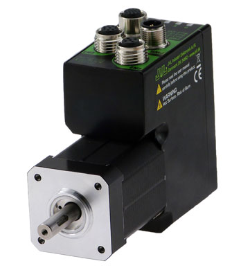New ServoStep integrated stepper motor series MIS171 to MIS176
