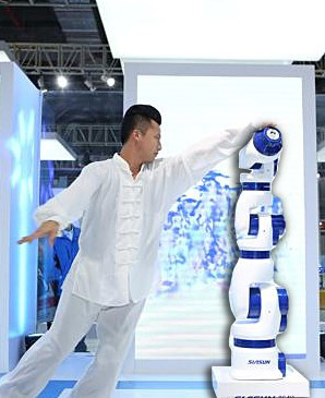 A 7-Joint Arm Robot Performing 'T'ai Chi Ch'uan'