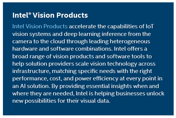 Intel Vision Products