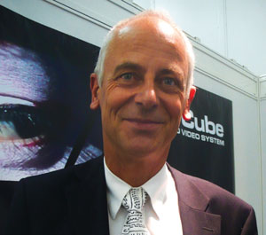Claude Cellier, President of Merging Technologies