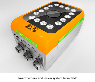 Smart camera and vision system from B&R.