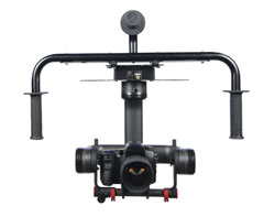 The Halo 2000 by Photo Higher is a three-axis camera stabilizer system made from 100 percent carbon fiber. The stabilization is provided by maxon motors and servo controllers. Image © Photo Higher
