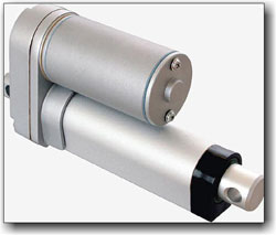 Self-contained DC linear actuator