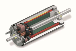Shown is maxon motor's DC brushed motor. © 2015 maxon motor ag