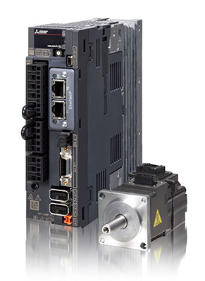 MR-J4-TM multi-network servo drives with EtherNet/IP™ and EtherCAT® interfaces