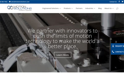 Announcing the Launch of the New Motion Solutions Website