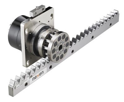 New precision roller pinion system