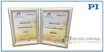 PI Finalist in Motion & Control Industry 2017 Awards