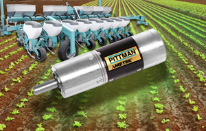 Pittman offers broad range of DC brush and brushless motors to the agriculture equipment industry