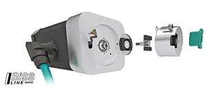 POSITAL magnetic Kit Encoders support 2 and 4-Wire implementations of the Single-Cable BiSS Line Communications Interface.