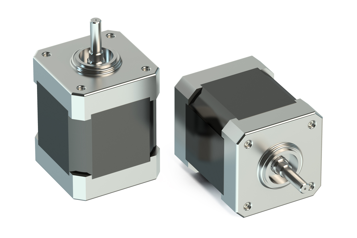 A stepper motor, at its most basic definition, is an electromechanical device that converts electrical power into mechanical power.