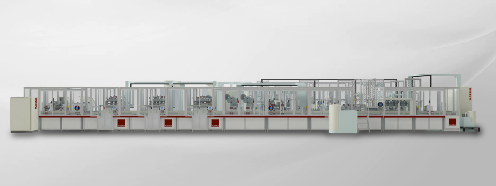 High yield production lines