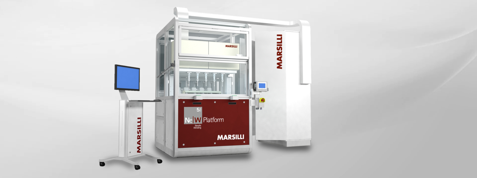 Needle Winding Machine for Motor Stator Winding, Stand-alone