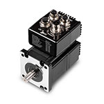 SWM24IP-3DE Integrated Stepper Motor and TXM24IP-IDG StepSERVO™ Integrated Motor