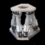 High Load Scalable Hexapod Parallel Motion Platform with Controller: 1 Ton Load