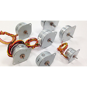 Tin can stepper motors from nippon pulse electromate inc for Low profile stepper motor