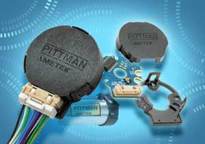 Pittman Motors E30C and E30D optical incremental encoders for precision-motion control applications