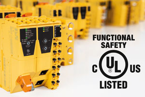 B&R's integrated safety technology has received UL functional safety certification.