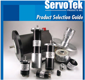 Servo-Tek Products Company Tachometer Product Selection Guide